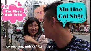 Xin Line và làm quen gái Nhật - Cuộc Sống Nhật Bản 207 | 日本人とても優しい