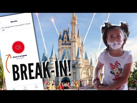 OUR HOUSE ALARM GOES OFF WHILE WE'RE AT DISNEYWORLD ACROSS THE COUNTRY! / SECURITY ALERT!