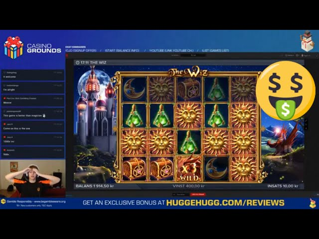Big win in new The Wiz slot | LetsGiveItASpin - Casino