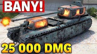 BANY i 25 000 DMG W WOT - TRYB HALLOWEN