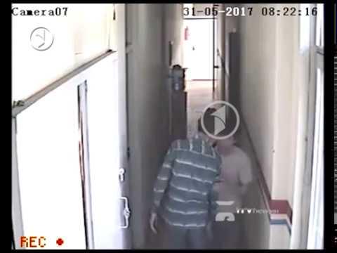 Kabul Attack on 1TV CCTV camera لحظات انفجار از دوربین امنیتی تلویزیون یک