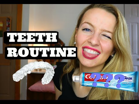 My Teeth Routine + How I Whiten My Teeth + Clean My Retainers!