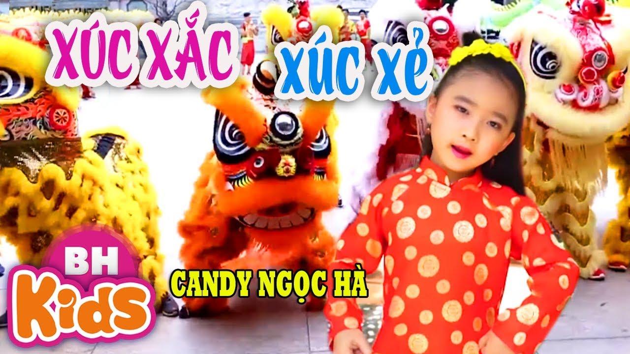 Xúc Xắc Xúc Xẻ ♫ Candy Ngọc Hà ♫ Nhạc Thiếu Nhi Vui Nhộn Cho Bé