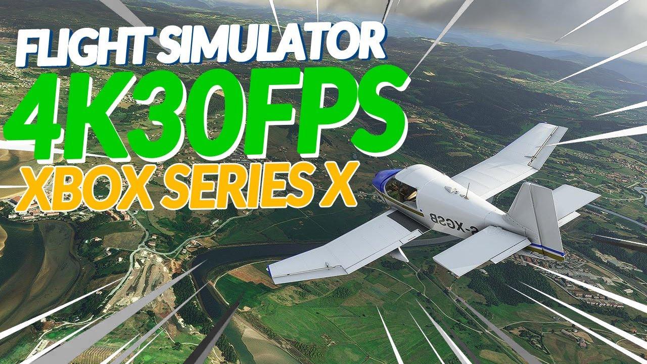 AO VIVO: FLIGHT SIMULATOR RODANDO a 4K 30FPS no XBOX SERIES X