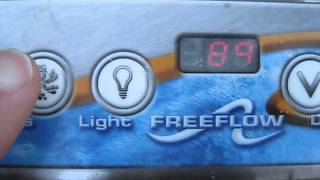 Freeflow Spa Topside Control Panel Flickering