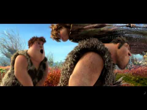The Croods -- Official Clip 'Road Trip' -- Regal Movies [HD]