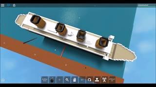 Bau der Titanic in Roblox! Größere Version
