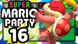 SUPER MARIO PARTY EPISODE 16 SALLE DE JEUX DE TOAD : GUILLAUME VS. KIM ! (NINTENDO SWITCH)