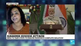 Kashmir suicide attack: India to take steps to ensure Pakistan's complete isolation