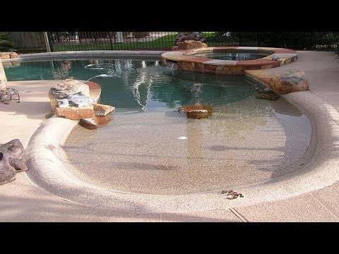 Beach Entry Pool Ideas Swimming Design