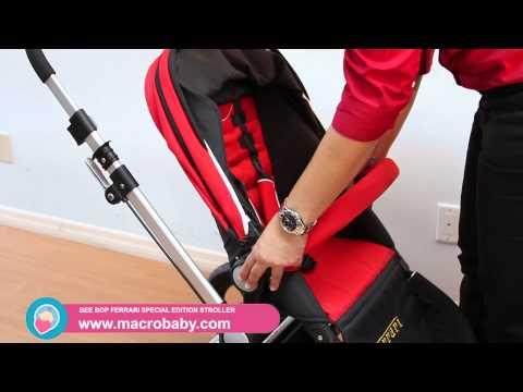 MacroBaby - Bee Bop Ferrari Special Edition Stroller