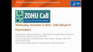 CDC ZOHU Call December 4, 2019
