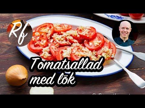 tomatsallad med lök