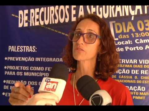 Palestra em Porto Alegre do Norte reúne autoridades da região Norte do Araguaia