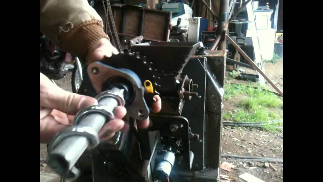 Pellet Stove Homemade Part 4 4 Quot Automatic Feeder