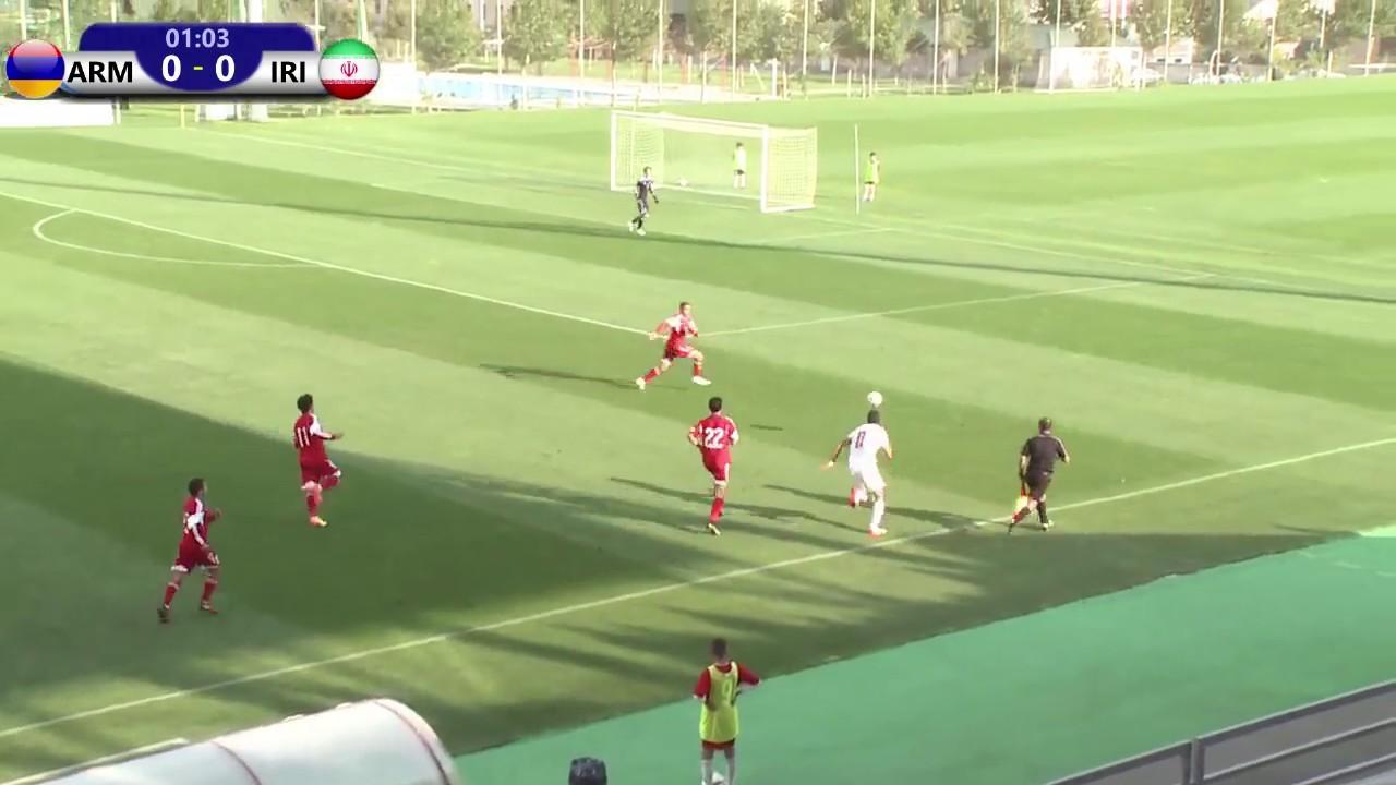 ARMENIA U19 VS IRAN U19 (29 09 2017 Friendly)