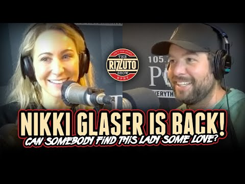 Somebody find NIKKI GLASER some love! [Rizzuto Show]