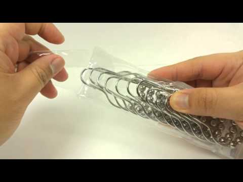 Magicfly Stainless Steel Shower Curtain Rings Review