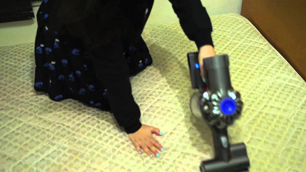 Dyson Dc74 Mattress Dust Mite Cleaning 床褥/塵蟎清潔測試 Doovi