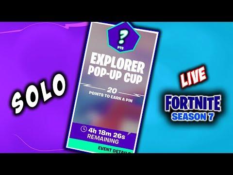 """Solo Explorer  POP-UP-CUP :  Code  """"QUASARGAMES"""" Fortnite INDIA"""