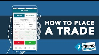 How to Place a Trade (Beginners Guide) - Invest $5 in Bitcoin, Ethereum and other cryptocurrencies