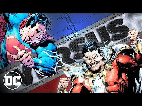 SUPERMAN vs SHAZAM