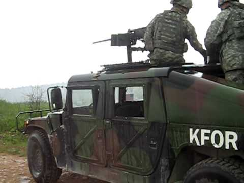 50 cal machine gun mounted on humvee youtube
