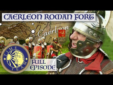 Caerleon Roman Legion Fort In Wales | Time Team