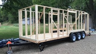 Tiny House Build: Step 4 - Wall Framing (And a Tumbleweed plan review)