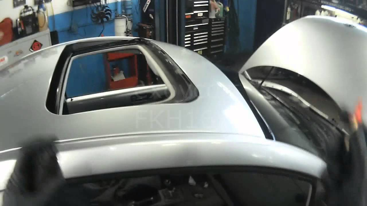 Vw A4 New Beetle Front Sunroof Drains Quick Check Youtube
