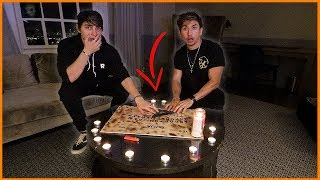 OUIJA BOARD IN THE MOST HAUNTED HOTEL IN LOS ANGELES!