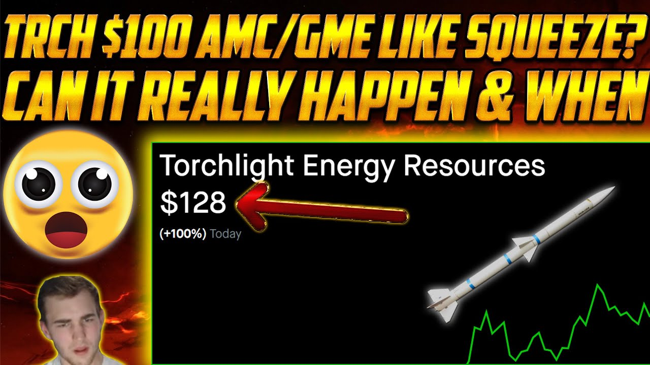 TRCH Stock PROOF Torchlight $100 Short Squeeze is VIABLE🤯 CEO Squeeze? Update!