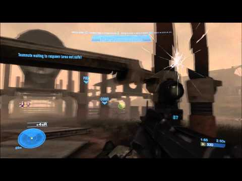Let's Co-op Halo Reach with Gameovision Staff Part 10 Lone Wolf