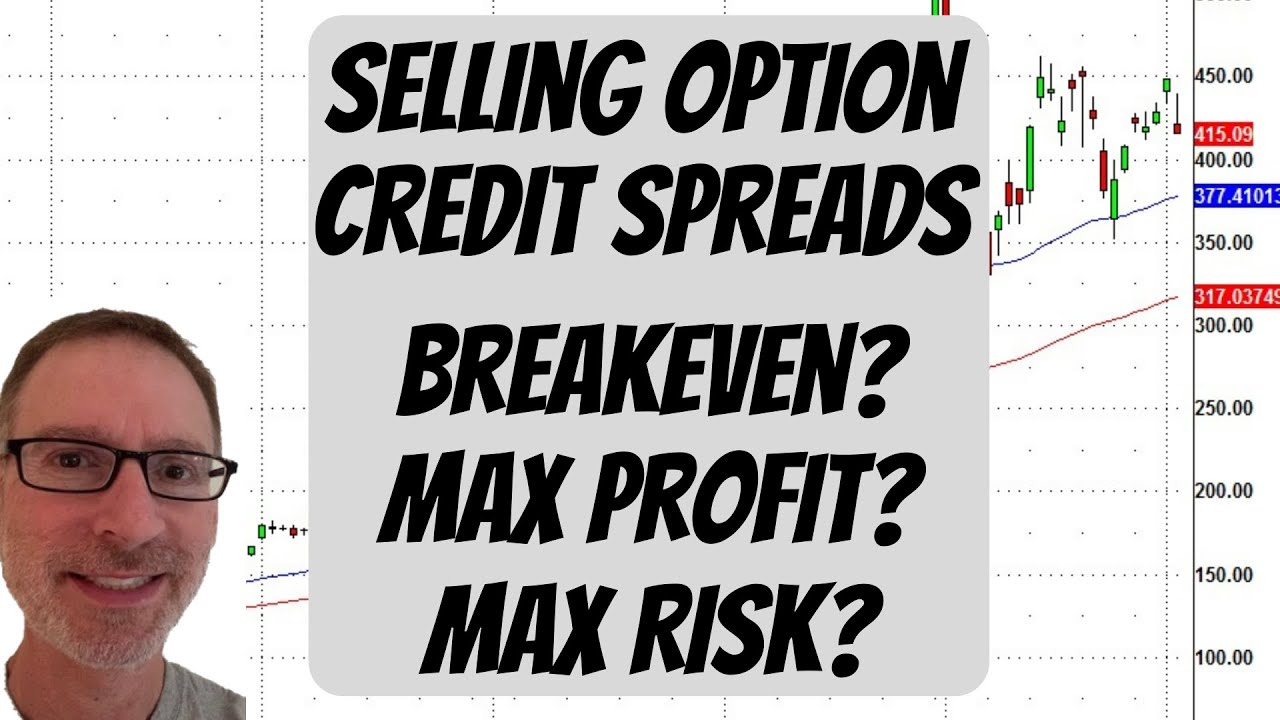 Option Credit Spreads - Max Profit?  Max Risk?  Breakeven?