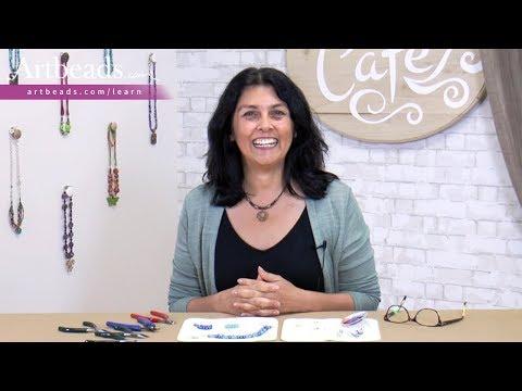 Artbeads Tutorial - Beginner Basics: Bead Stringing with Cynthia Kimura