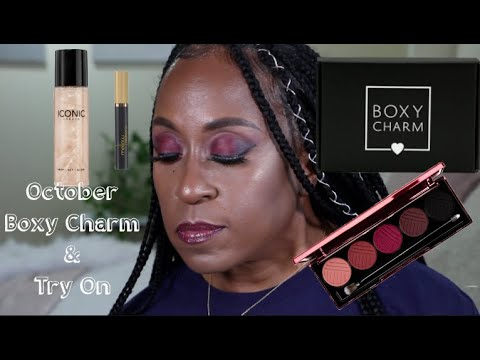 OCTOBER BOXYCHARM UNBOXING AND TRY ON~SERENIITEE thumbnail