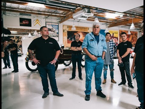 JAY LENO'S GARAGE PRIVATE TOUR