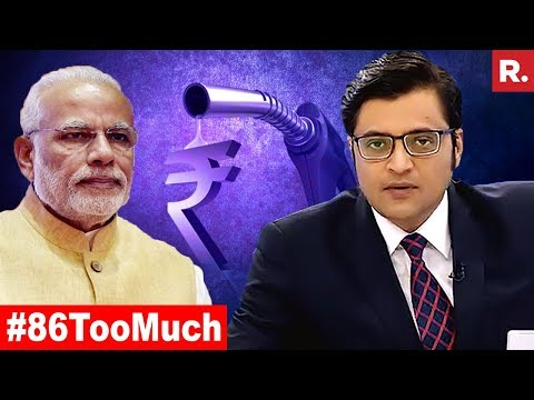 Why Cant Government Ease Fuel Price Pain? | The Debate With Arnab Goswami