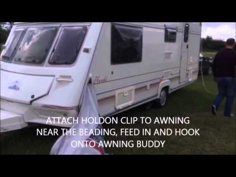 How To Erect A Caravan Awning Doovi