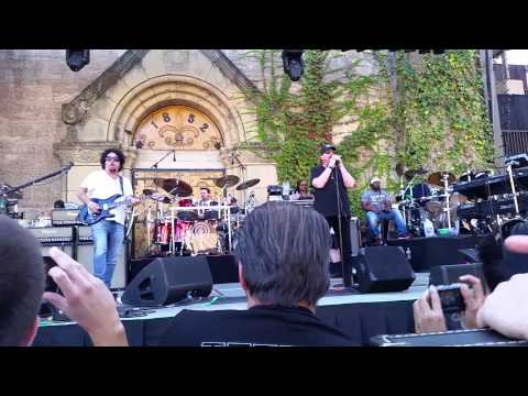Toto sound check Saratoga California 2015