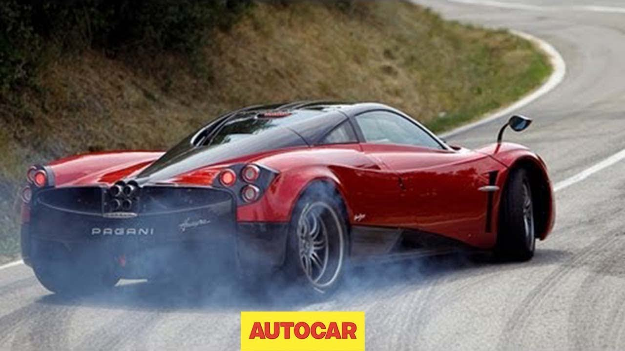 New Pagani Huayra driven; 720bhp, 230mph - Autocar - YouTube