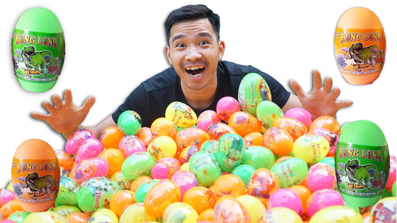PHD | Mở 640 Quả Trứng Khủng Long | Bên Trong Có Gì?