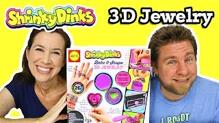 Shrinky Dinks Bake & Shape 3D Jewelry by Alex