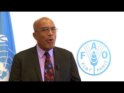 Winston Rudder Chairman Agricultural Development Bank Cocoa Development Company - 159th FAO Council
