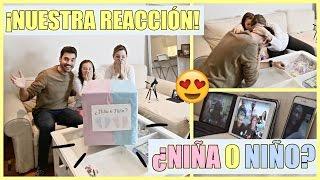 ¡REVELAMOS EL SEXO DEL BEBÉ! + NUESTRA REACCIÓN | ¿NIÑA O NIÑO? | BEST GENDER REVEAL!!