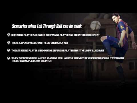 FIFA 12 Tutorials - Lob Through Ball Passing