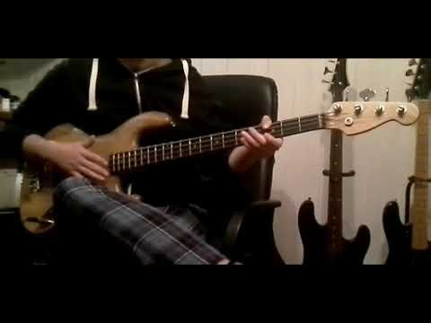American Life/Tragedy's a' comin - Primus bass cover/testing