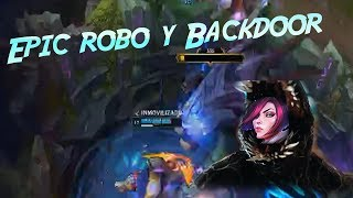 Robo de Baron y Backdoor en ranked (termina mal)