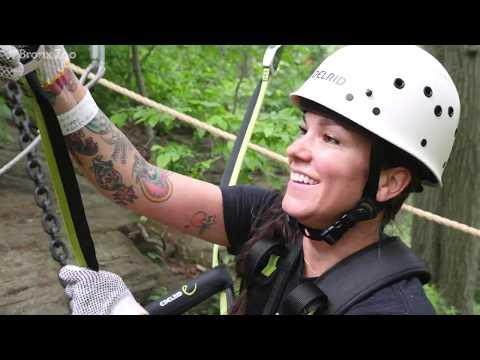 Bronx Zoo Treetop Adventure Aerial Courses