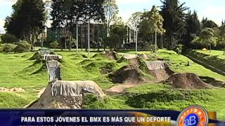 Jóvenes practican el BMX: Arriba Bogotá, Citytv